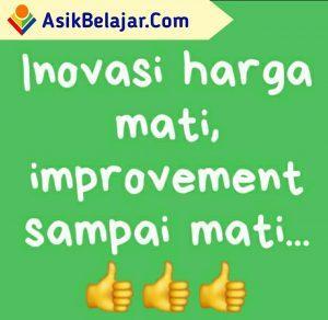 Inovasi dan improvement
