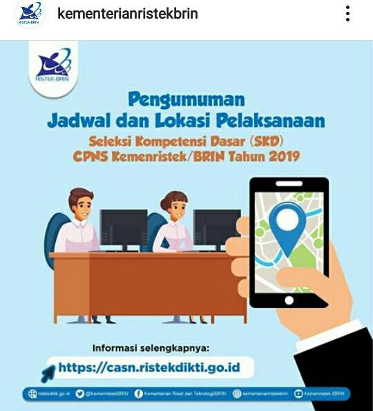 Tes CASN / CPNS tahun 2019 / 2020