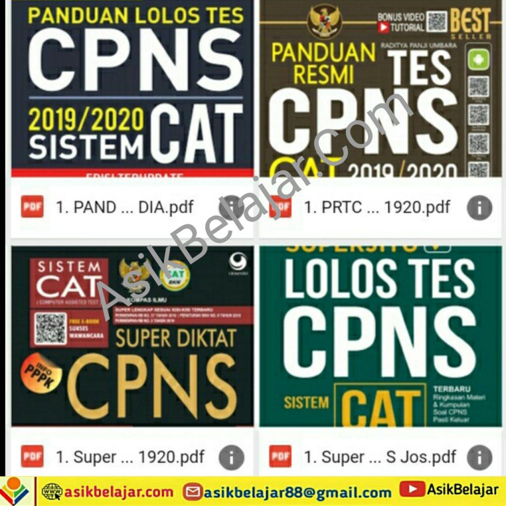 Kumpulan Soal CPNS Terlengkap GRATIS